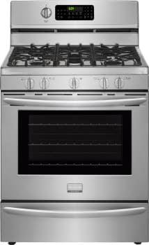 "Frigidaire Gallery Series FGGF3060SF - 30"" Frigidaire Gallery Freestanding Gas Range with 5 Sealed Burners and 5.0 cu. ft. Convection Oven"
