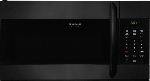 Frigidaire Gallery Series Fgmv176ntb Black Front View