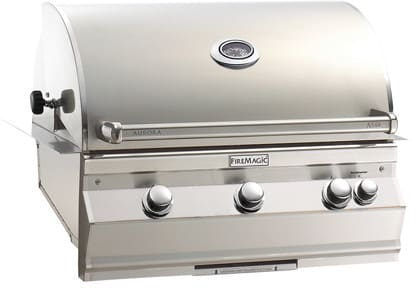Fire Magic Aurora Collection A540I5L1N - Aurora Digital Grill (Analog Model Shown Here)