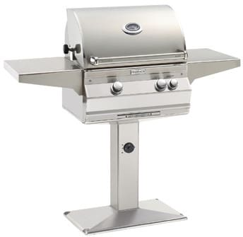 Fire Magic Aurora Collection A430S6L1PP6 - Aurora Series Patio Post Mount Grill