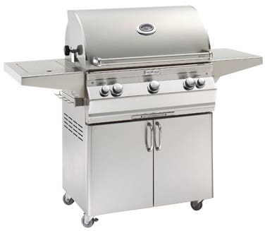 Fire Magic Aurora Collection A540S6L1X62 - Aurora Portable Grill (Picture Does Not Reflect Actual Grill - Analog Thermometer Model Shown Here)