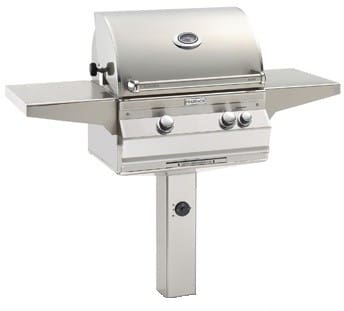 Fire Magic Aurora Collection A430S5E1NG6 - Aurora Series Post-Mount Grill