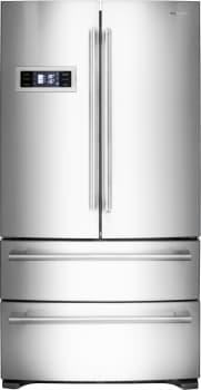 """Fulgor Milano FM36CDFDS1 - 36"""" French Door Refrigerator with 20.8 cu. ft. Capacity and Dual Freezer Drawers (shown with Pro Handles [sold separately])"""