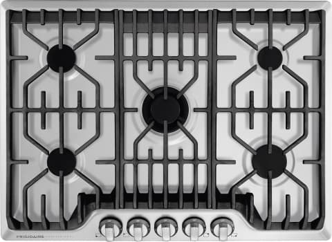 "Frigidaire Professional Series FPGC3077RS - 30"" Gas Cooktop with Center PowerPlus Burner and PrecisionPro Controls"