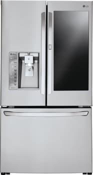 LG LFXC24796S - LG InstaView French Door Refrigerator