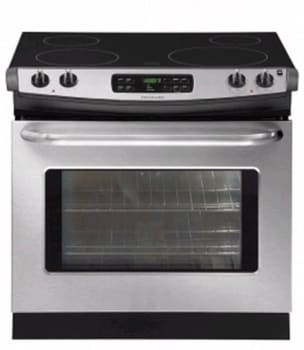 Frigidaire FFED3025L - 30-in. Drop-In Electric Range-Stainless Steel