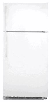 Frigidaire FFHT1826LW - 18.2 cu. ft. Top Freezer Refrigerator-White