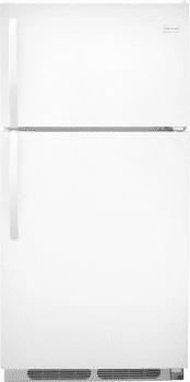 Frigidaire FFTR1514RW - Top-Freezer Refrigerator from Frigidaire