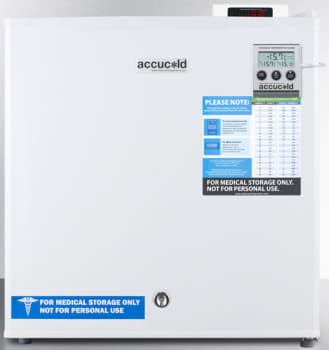 AccuCold FS24LVAC - White with Stabilized Temperature For Vaccine Storage