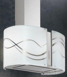 Futuro Futuro Murano Serenity Series WL27MURSERENITYLED - Murano Serenity LED Wall Hood
