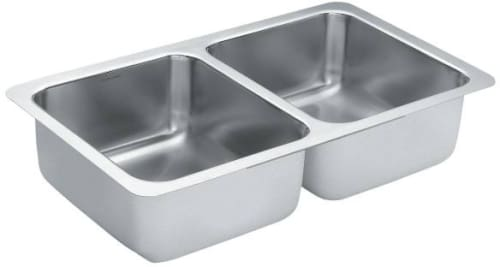 Moen 1800 G18212B - Double Bowl Sink