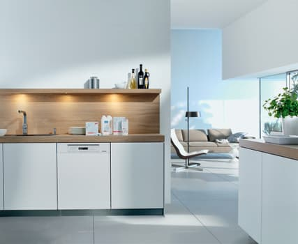 Miele Futura Dimension Series G6305SCUW - White Lifestyle