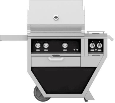 "Hestan GSBR30CX2BK - 48"" deluxe Grill"