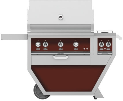 Hestan GMBR36CX2BG - deluxe Grill with burner