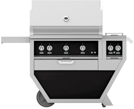 Hestan GMBR36CX2BK - deluxe Grill with burner