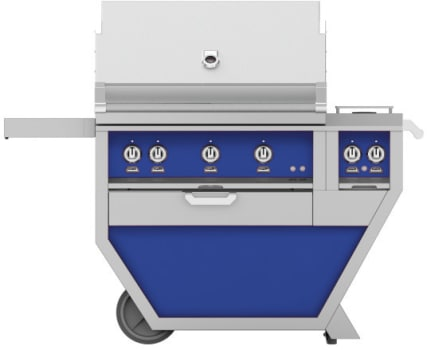 Hestan GMBR36CX2BU - deluxe Grill with burner