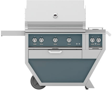 Hestan GMBR36CX2DG - deluxe Grill with burner
