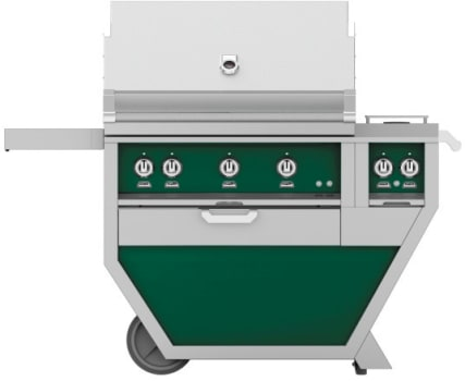 Hestan GMBR36CX2GR - deluxe Grill with burner