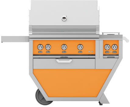 Hestan GMBR36CX2OR - deluxe Grill with burner