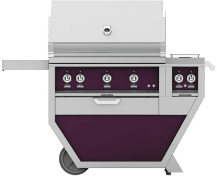 Hestan GMBR36CX2PP - deluxe Grill with burner