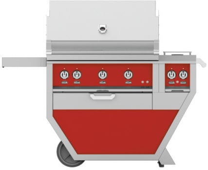 Hestan GMBR36CX2RD - deluxe Grill with burner