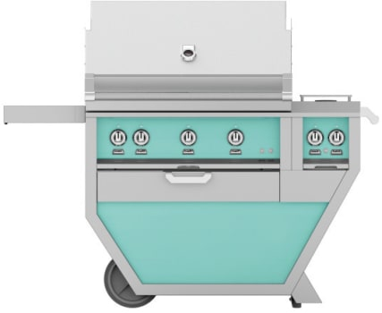 Hestan GMBR36CX2TQ - deluxe Grill with burner