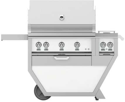Hestan GMBR36CX2WH - deluxe Grill with burner