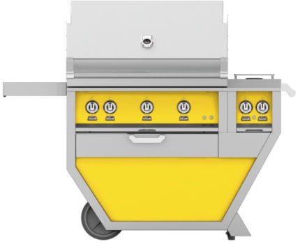Hestan GMBR36CX2YW - deluxe Grill with burner