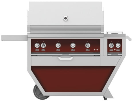 Hestan GMBR42CX2BG - Deluxe Grill with Side Burner