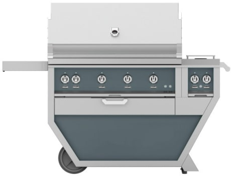 Hestan GMBR42CX2DG - Deluxe Grill with Side Burner