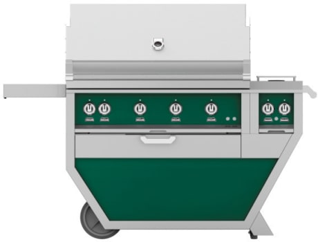 Hestan GMBR42CX2GR - Deluxe Grill with Side Burner