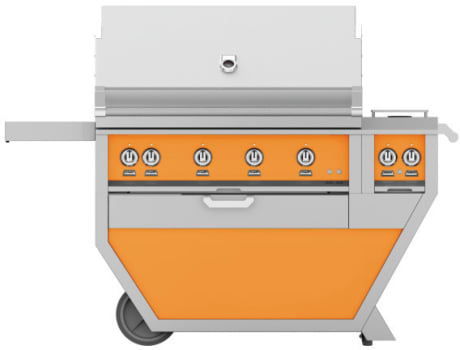 Hestan GMBR42CX2OR - Deluxe Grill with Side Burner