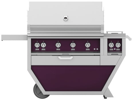 Hestan GMBR42CX2PP - Deluxe Grill with Side Burner