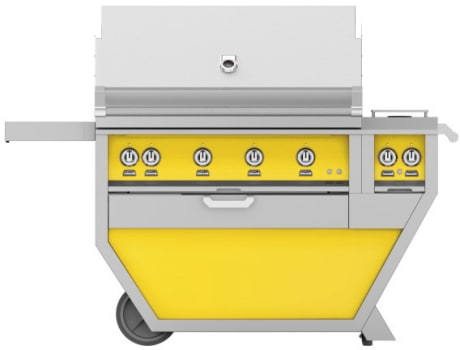 Hestan GMBR42CX2YW - Deluxe Grill with Side Burner