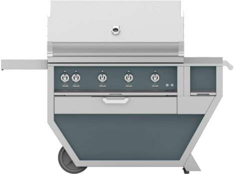 Hestan GABR42CX2DG - Deluxe Grill with Side Burner