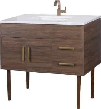 Cutler Kitchen Bath Midcnt36 36 Inch Freestanding Bathroom Vanity