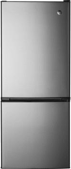 GE GBE10ESJSB - 10.5 Bottom Freezer Refrigerator