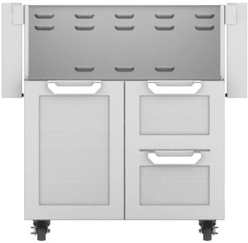 Hestan GCR30DG - Double Drawer and Door Cart