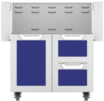 Hestan GCR30BU - Double Drawer and Door Cart
