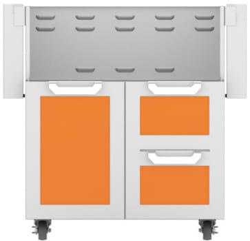 Hestan GCR30OR - Double Drawer and Door Cart