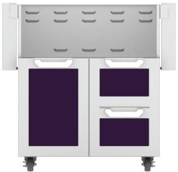 Hestan GCR30PP - Double Drawer and Door Cart
