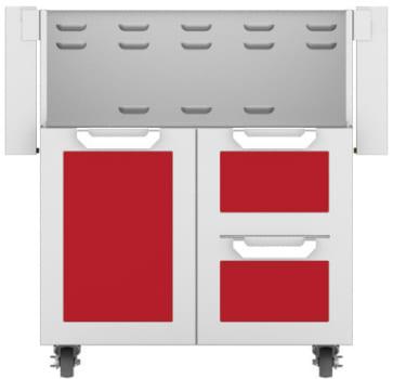 Hestan GCR30RD - Double Drawer and Door Cart