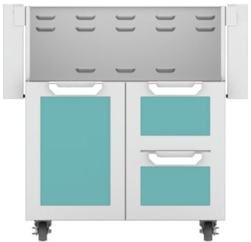 Hestan GCR30TQ - Double Drawer and Door Cart
