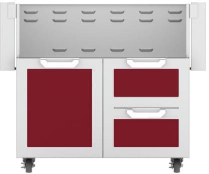 Hestan GCR36BG - Double Drawer and Door Cart