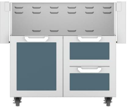 Hestan GCR36DG - Double Drawer and Door Cart