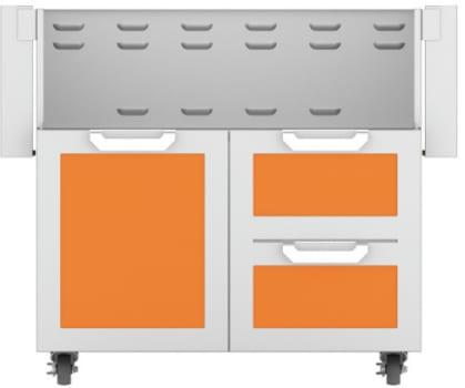 Hestan GCR36OR - Double Drawer and Door Cart