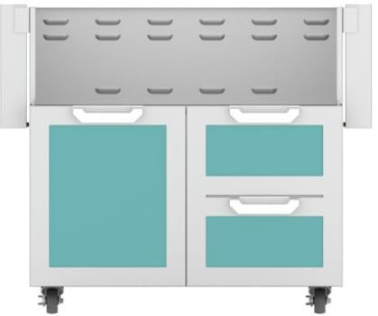 Hestan GCR36TQ - Double Drawer and Door Cart