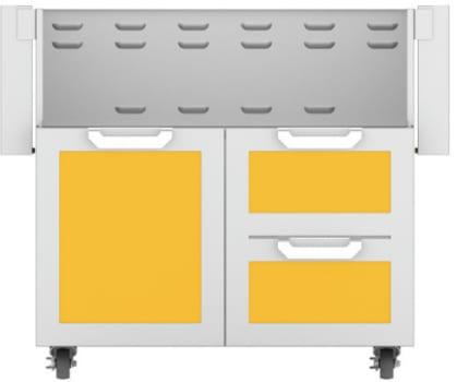 Hestan GCR36YW - Double Drawer and Door Cart