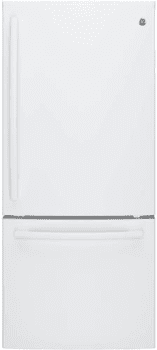 GE GDE21EGKWW - White freestanding refrigerator from GE