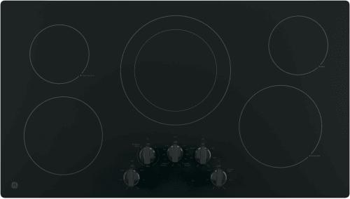 GE JP3036DLBB - GE Electric Cooktop in Black